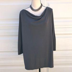 3/4 sleeve pull on blouse